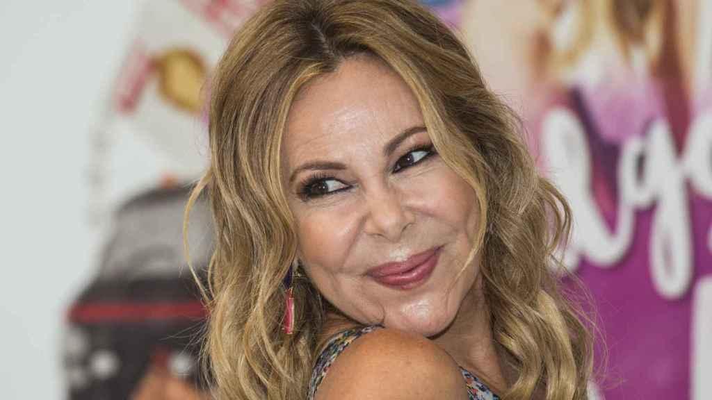Ana Obregón en una imagen de archivo.