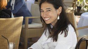 Vanessa Revuelta en la inauguración del Hotel Healthouse Las Dunas.