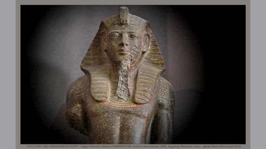 Tumba del faraón Merneptah.