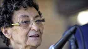 La poeta alicantina Francisca Aguirre.