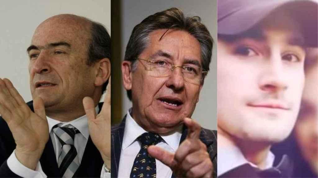 Jorge Enrique Pizano, Néstor Humberto Martínez Neira y Alejandro Pizano