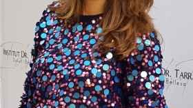 La actriz Cristina Alarcón.