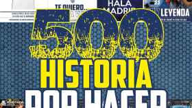 La portada de El Bernabéu (14/11/2018)