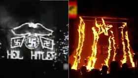 Dos de las imágenes recogidas por el vídeo.