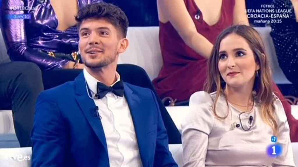 Carlos y Marilia minutos antes de la expulsión.
