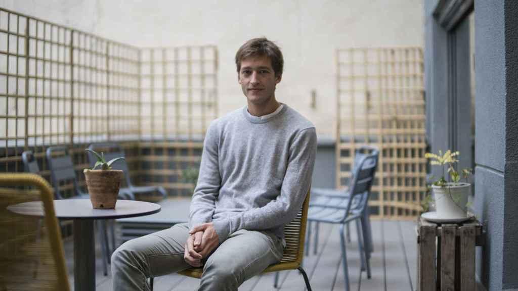 Óscar Pierre, CEO y fundador de Glovo, en Madrid.