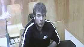 Patrick Nogueira, durante una de las vistas del juicio que se celebró en octubre.