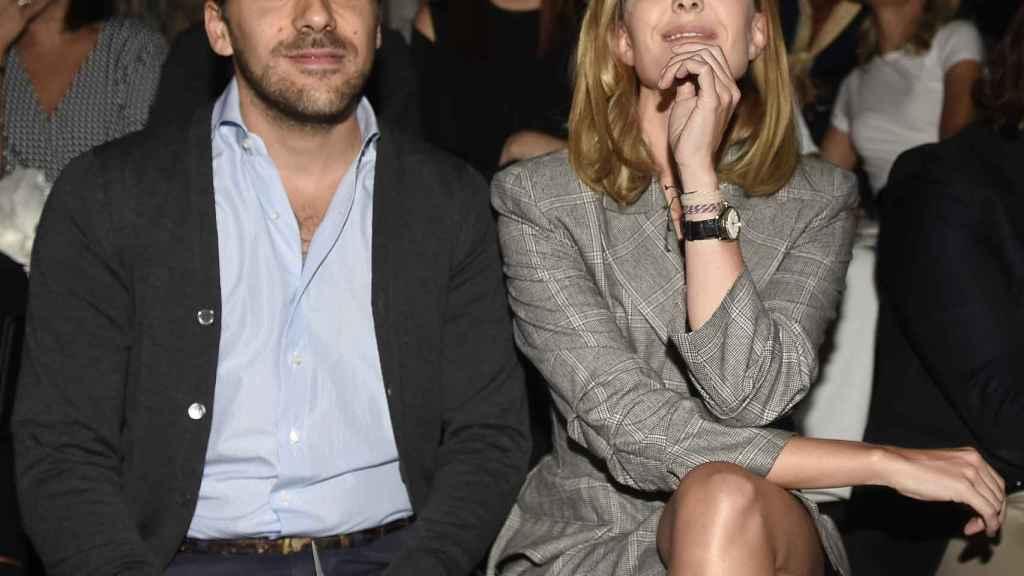 Carlos Torretta y Marta Ortega en una imagen de archivo.