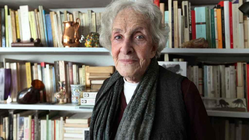 Ida Vitale, en una fotografía tomada el pasado mes de septiembre.