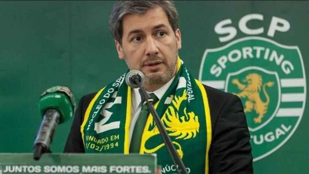Libertad para el expresidente del Sporting de Lisboa tras ser acusado del ataque a sus jugadores