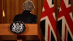 May tras la comparecencia de este jueves en Downing Street