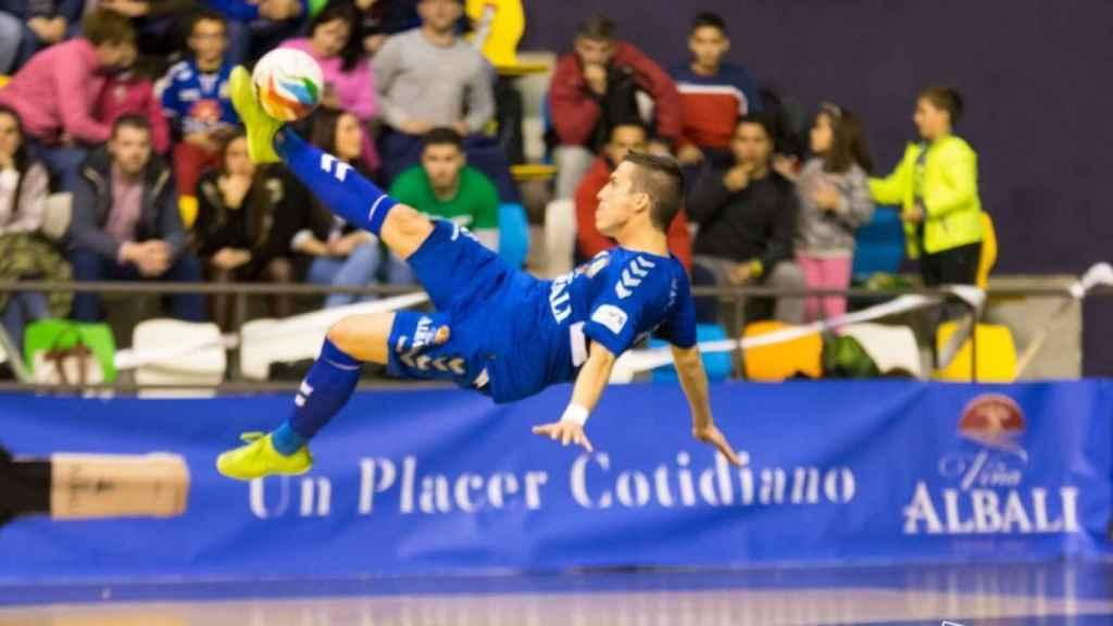 Dani Santos y su gol espectacular gol de chilena.