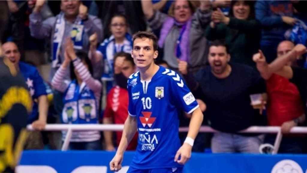 Dani Santos, jugador del Valdepeñas. Foto: LNFS.
