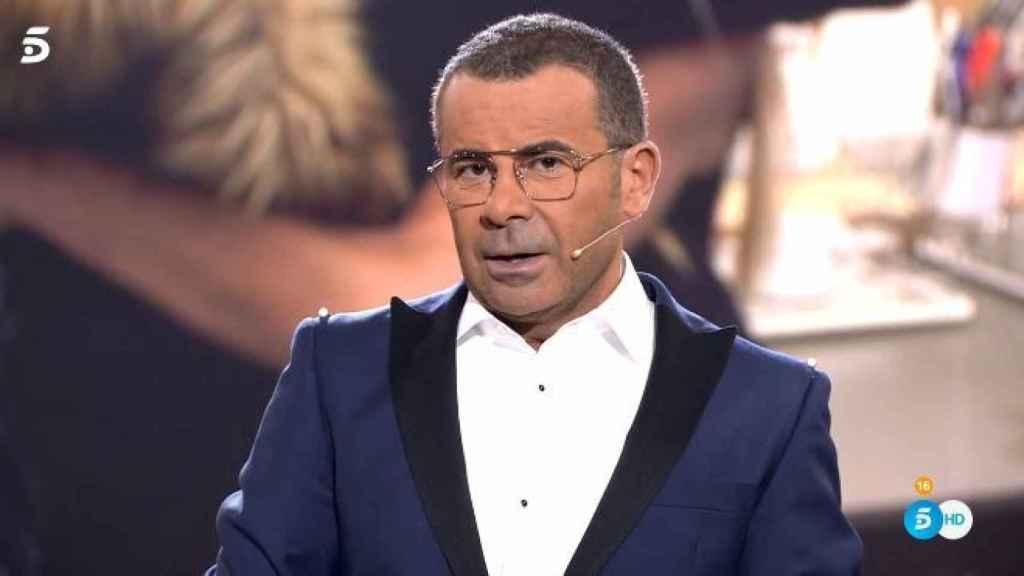 Jorge Javier durante el programa de 'GH VIP'.