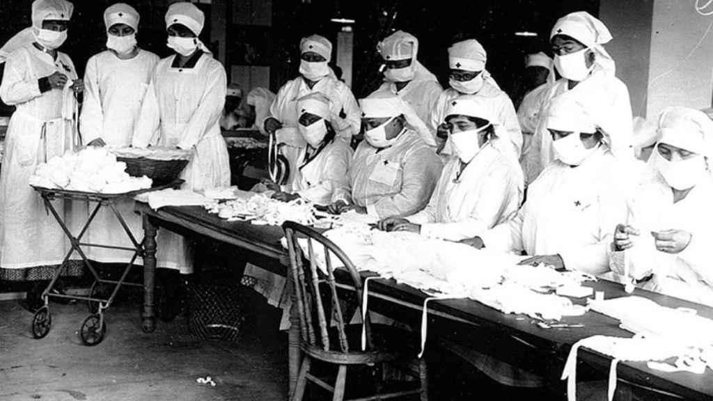 100 años de la gripe española