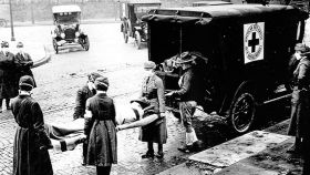 Víctimas mortales de la gripe española de 1918.