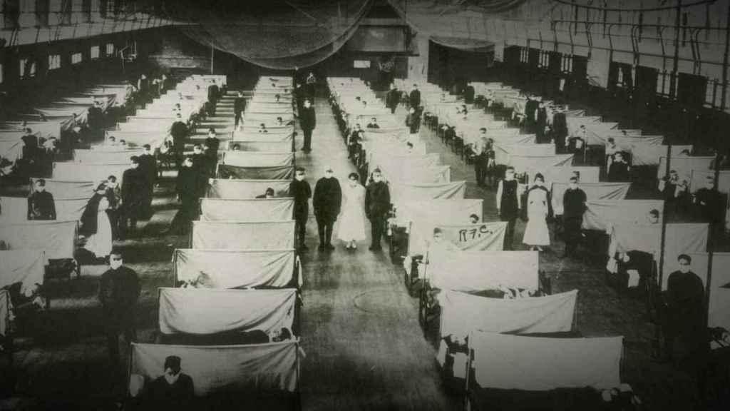 Así se atendía a los enfermos durante la pandemia.