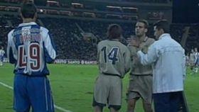 Messi debutó hace 15 años ante el Oporto. Foto: Barçatv