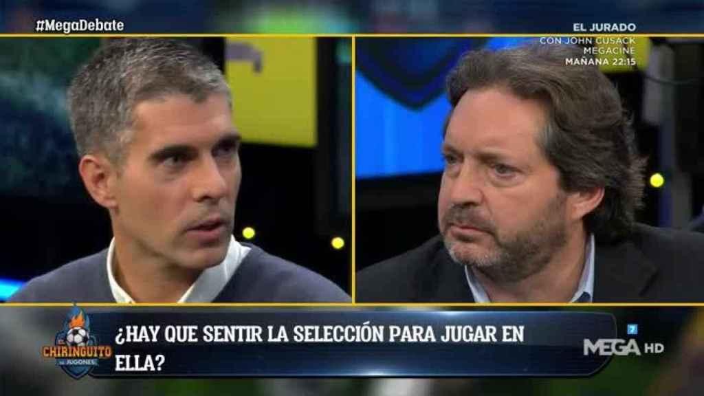 José Luis Sánchez, en El Chiringuito