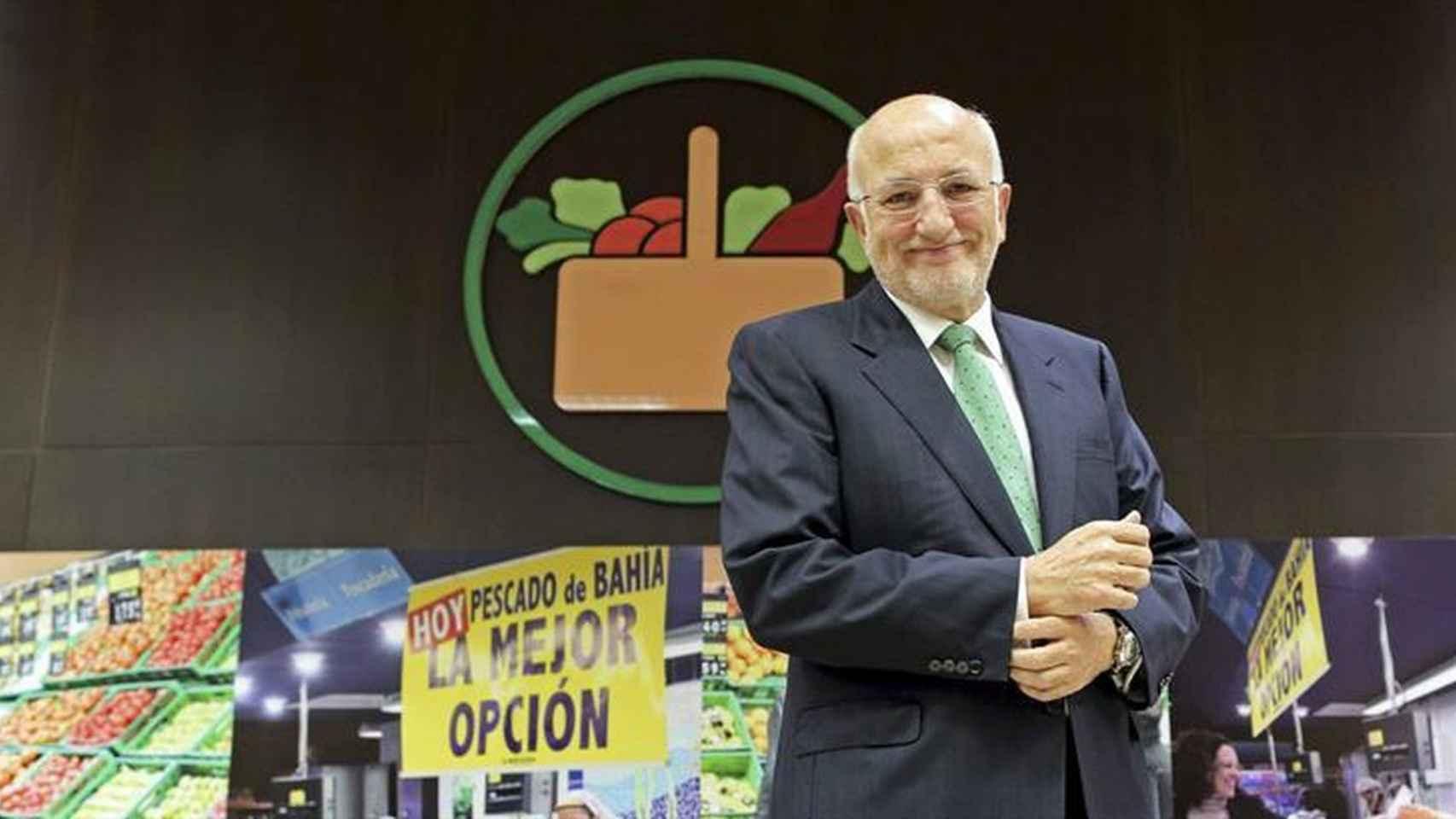 El presidente de Mercadona, Juan Roig.