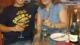 Henry y Mariana, su madre, en el perfil de él de Whatsapp