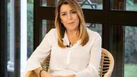 La presidenta andaluza y candidata del PSOE a la reelección, Susana Díaz.