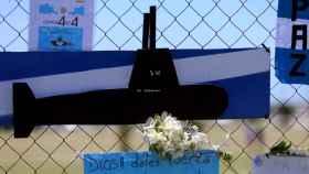 Homenaje por el submarino ARA San Juan en una base naval argentina