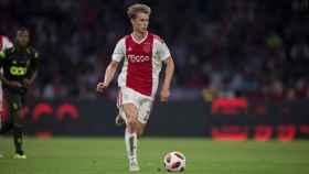De Jong con el Ajax. Foto: spanish.ajax.nl