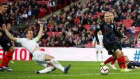 Kane marca el gol de la victoria contra Croacia