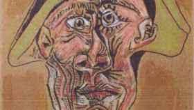 La obra de Picasso que fue robada en 2012, 'Teté d'Arlequin'.