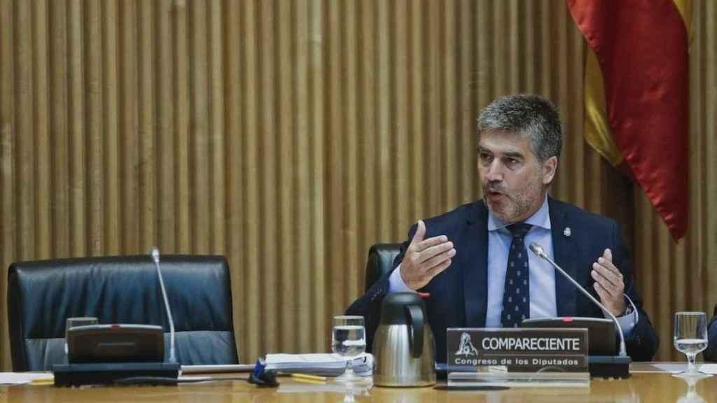 Ignacio  Cosidó, en el Senado.
