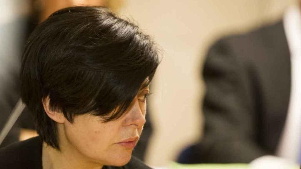 Rosario Porto, en el juicio por Asunta.