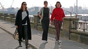 Eugenia Silva, María Fitz-James y Samantha Vallejo-Nágera.