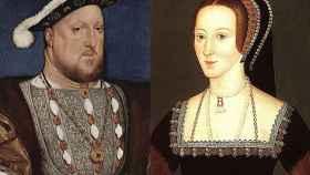 Enrique VIII y Ana Bolena.