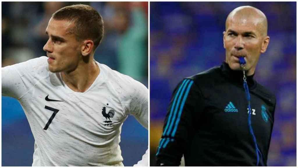 Griezmann y Zidane