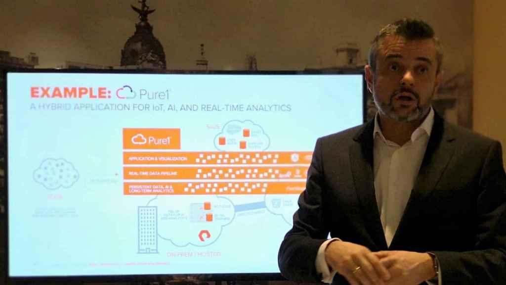 Marcos Blanco, country manager de PureStorage en España