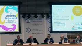 El 5º Encuentro Empresarial Leganés Tecnológico se ha celebrado en el parque científico de la Universidad Carlos III.