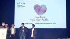 Ganadores de los Premios FIPSE a las innovaciones en salud 2018.