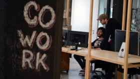 Un espacio de 'coworking', en una imagen de archivo.