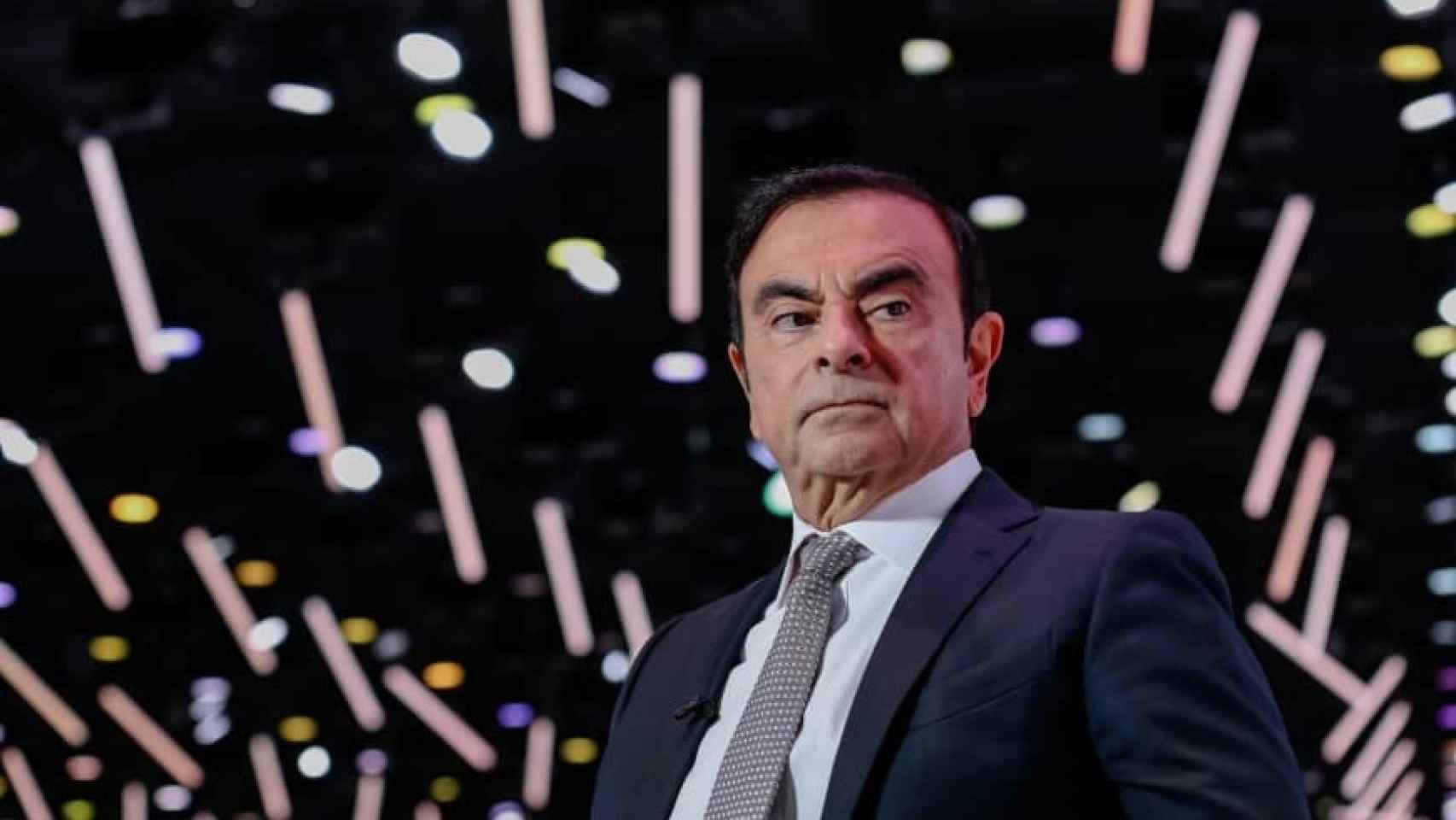 Carlos Ghosn, expresidente y CEO de Nissan.