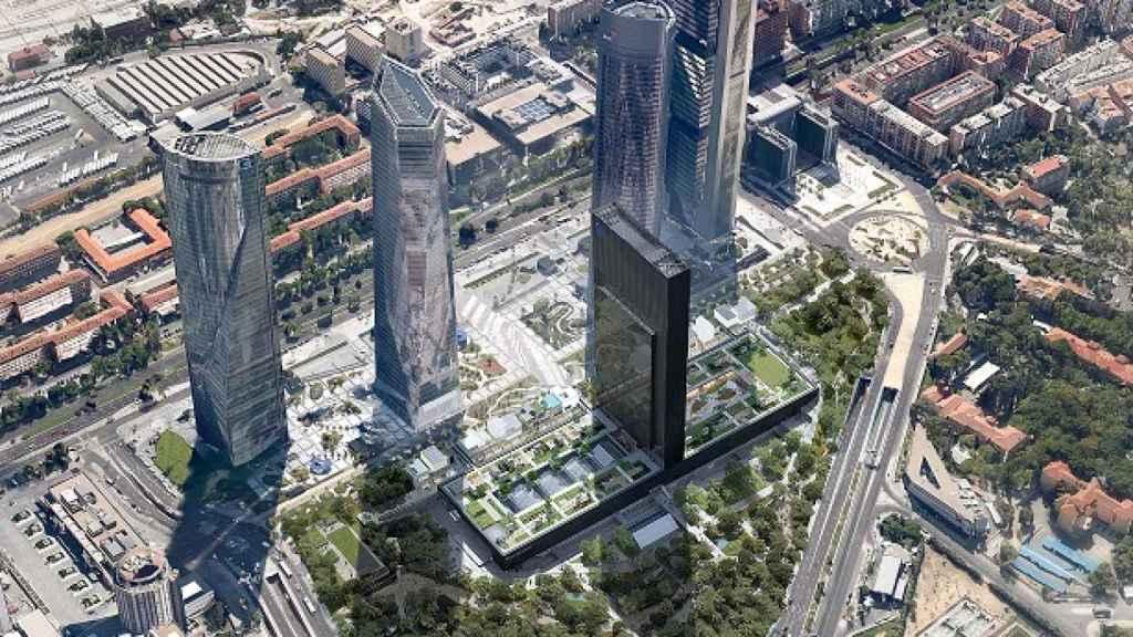 Vista aérea del proyecto Caleido.