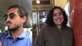 A la izquierda, Marc; a la derecha, Beatriz Marqués, que usurpó su identidad.