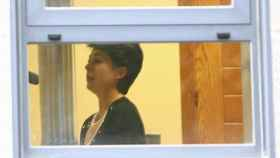Rosario Porto, madre de Asunta Basterra, en los juzgados.