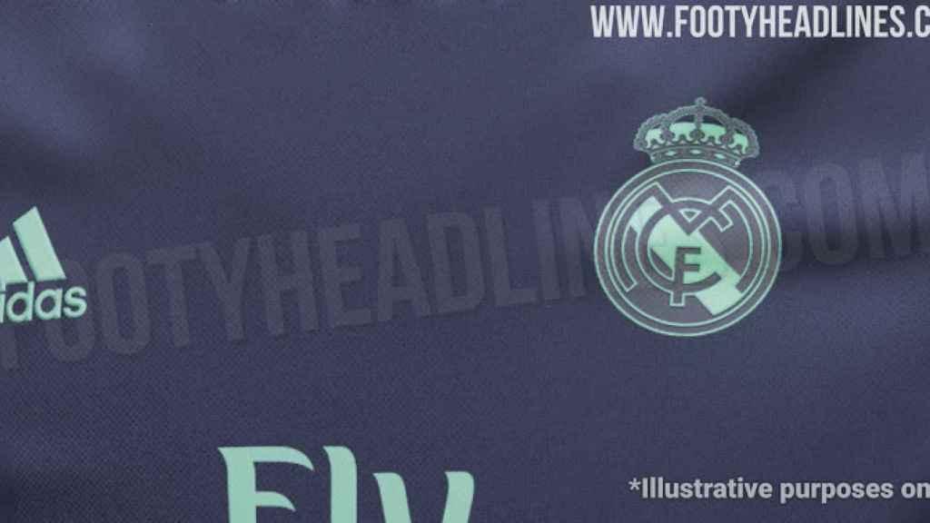 Se filtran los colores de la nueva camiseta del Real Madrid