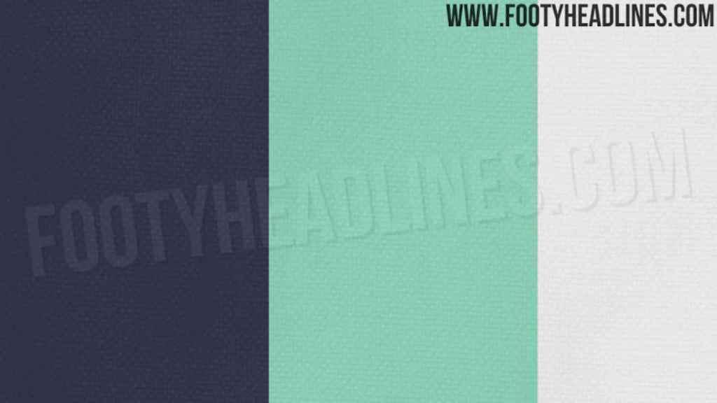 Los colores de las próximas equipaciones del Real Madrid