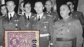 Los nacionalistas tomaron la idea del plato único del nazismo.  (Imagen del cupón: De un olivo a otro)