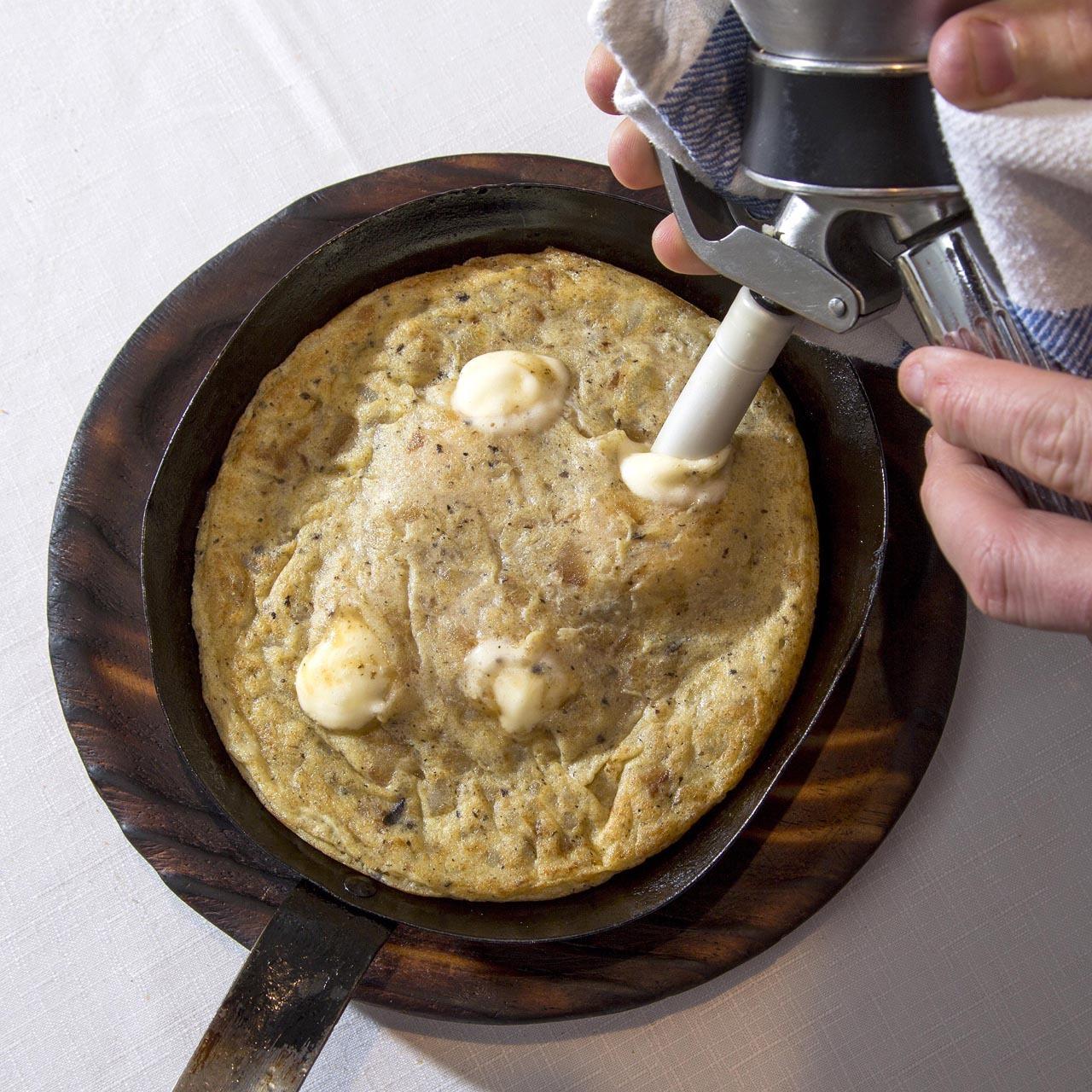 Las mejores tortillas de patata de Madrid -Tortillas gabino trufada