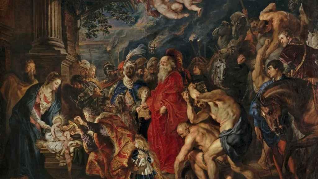 'La Adoración de los Magos', de Rubens
