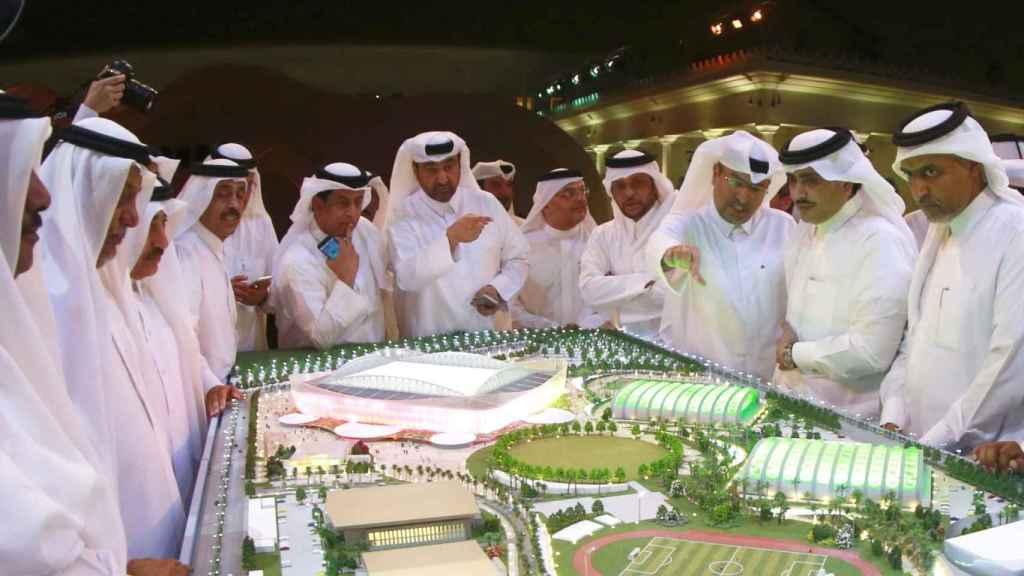 Presentación estadio Al Rayyan. Foto: fifa.com