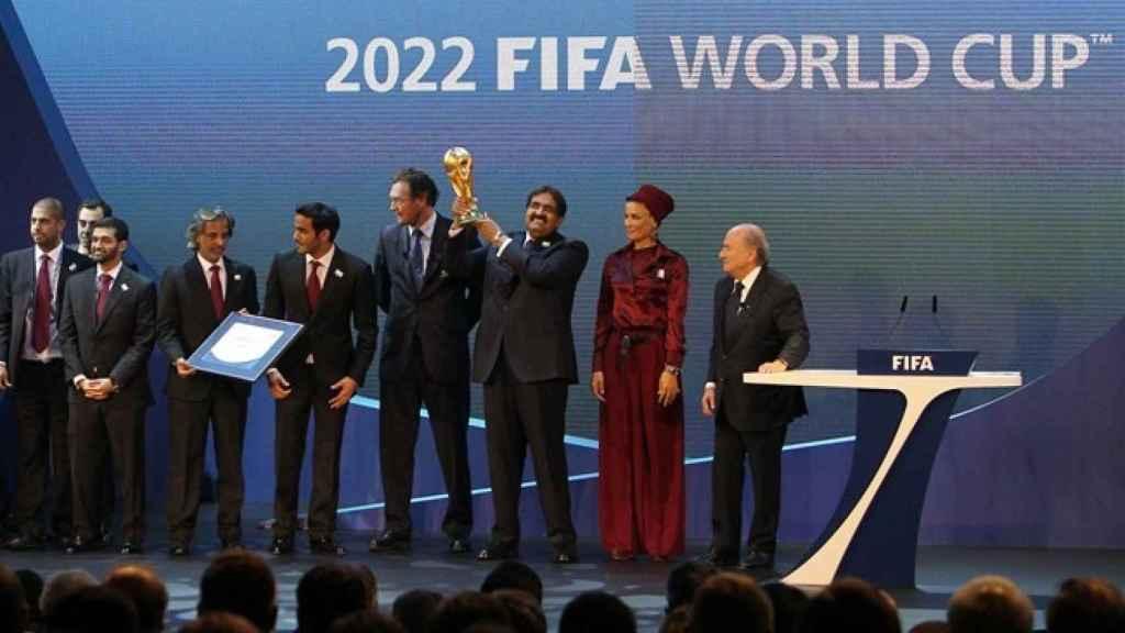 La FIFA anuncia que Catar se lleva el Mundial 2022. Foto: fifa.com